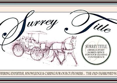 Surrey title finl