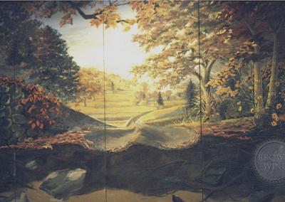 woodland classrom mural copy copy